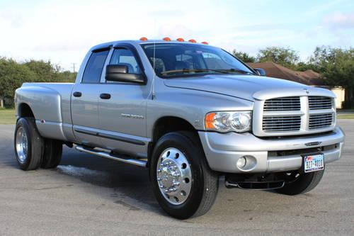 2004 Dodge RAM 3500 4x4 Dually Diesel Quad Laramie **ONLY 44K ORIG MI! for Sale in San Antonio ...