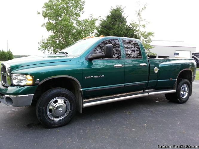 2004 dodge ram 3500 for sale in fort mill south carolina classified. Black Bedroom Furniture Sets. Home Design Ideas
