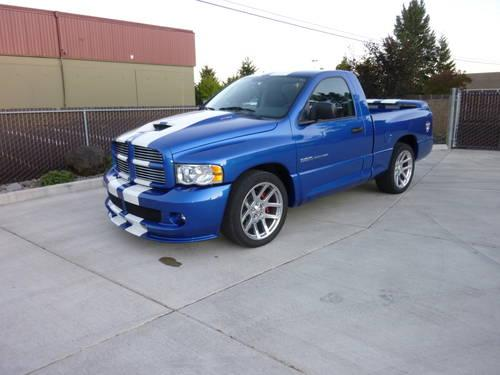 2004 dodge ram srt 10 very rare vca special edition only 575 miles for sale in albany. Black Bedroom Furniture Sets. Home Design Ideas