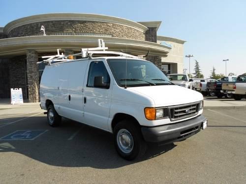 2004 ford e250 minivan van cargo van 5 4l v8 for sale in rocklin california classified. Black Bedroom Furniture Sets. Home Design Ideas