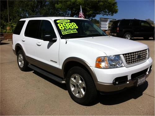 2004 ford explorer 4x4 eddie bauer edition for sale in sacramento california classified. Black Bedroom Furniture Sets. Home Design Ideas