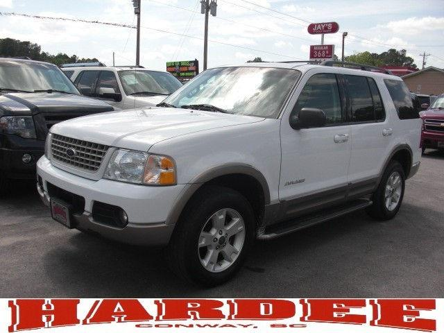2004 ford explorer eddie bauer for sale in conway south carolina classified. Black Bedroom Furniture Sets. Home Design Ideas