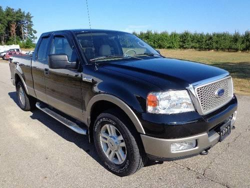 2004 ford f 150 extended cab pickup lariat for sale in greenville michigan classified. Black Bedroom Furniture Sets. Home Design Ideas