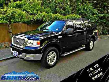 2004 Ford F 150 Lariat 4x4 Crew Cab Short Bed For Sale In