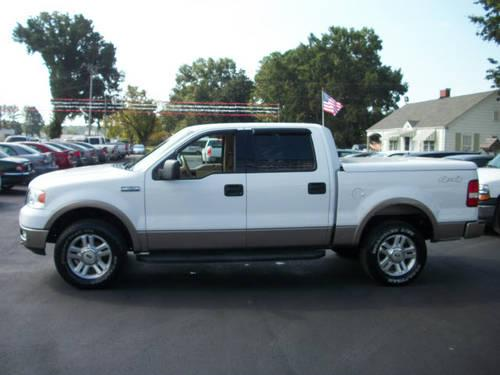 2004 ford f 150 supercrew 4x4 lariat for sale in decatur alabama classified. Black Bedroom Furniture Sets. Home Design Ideas