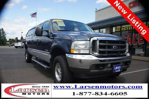 2004 ford f 250sd 4d crew cab xlt for sale in mcminnville for Larsen motors mcminnville oregon