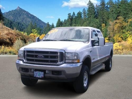 2004 ford f 350 4x4 sd crew cab for sale in grants pass oregon classified. Black Bedroom Furniture Sets. Home Design Ideas