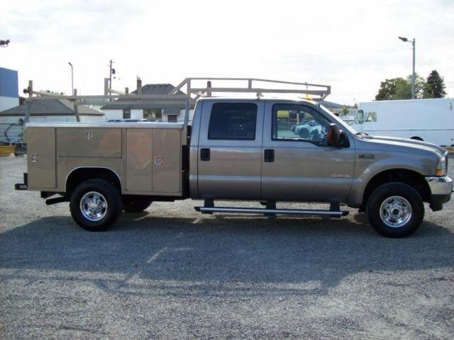 2004 ford f 350 crew cab lariat utility bed 4x4 for sale in veradale washington classified. Black Bedroom Furniture Sets. Home Design Ideas