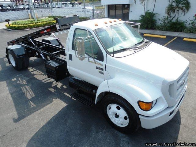 2004 Ford F-650 Roll Off Truck Stock 04243