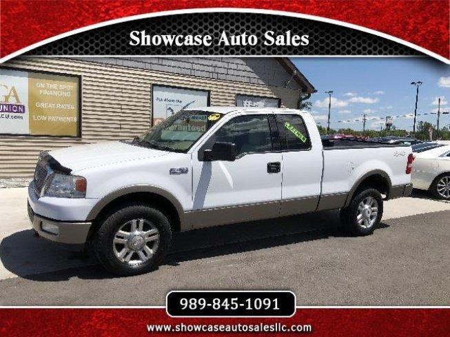 2004 Ford F150 4x4 Supercab Lariat For Sale In Chesaning Michigan