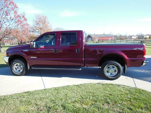 2004 ford f250 4x4 superduty lariat 13 000 actual mileage. Black Bedroom Furniture Sets. Home Design Ideas