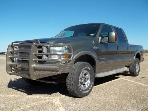 2004 ford f250 super duty king ranch crew cab 4wd 6 0l diesel for sale in idalou texas. Black Bedroom Furniture Sets. Home Design Ideas