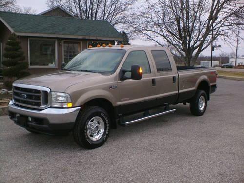 2004 ford f350 crew cab 4x4 lariat loaded only149000 miles diesel for sale in evansville. Black Bedroom Furniture Sets. Home Design Ideas