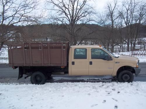 2004 ford f450 crew cab diesel xl dump truck for sale for sale in woodsboro maryland. Black Bedroom Furniture Sets. Home Design Ideas