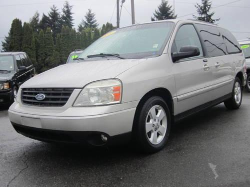 2004 ford freestar van for sale in dunsmuir california. Black Bedroom Furniture Sets. Home Design Ideas