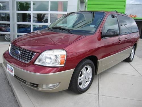 2004 Ford Freestar Wagon Mini Van Passenger Limited For