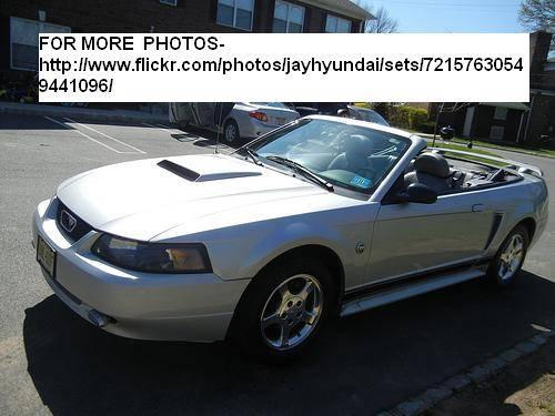2004 ford mustang convertible 40th anniversary edition for sale in springfield new jersey. Black Bedroom Furniture Sets. Home Design Ideas