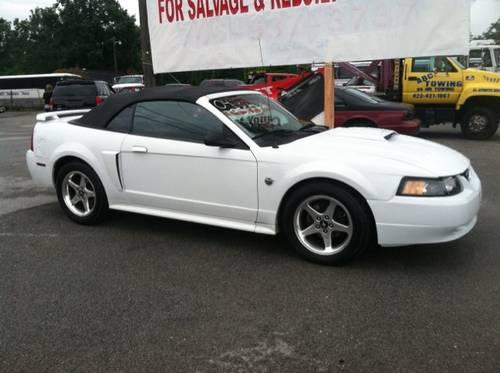 2004 ford mustang convertible gt for sale in ringgold. Black Bedroom Furniture Sets. Home Design Ideas