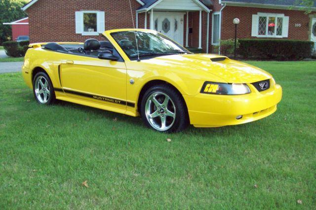 2004 Ford Mustang Gt Convertible 40th Anniversary For Sale
