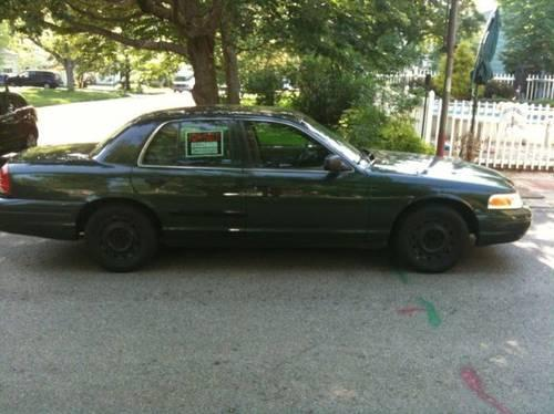 2004 ford p71 crown victoria police interceptor green for sale in brentwood new hampshire. Black Bedroom Furniture Sets. Home Design Ideas