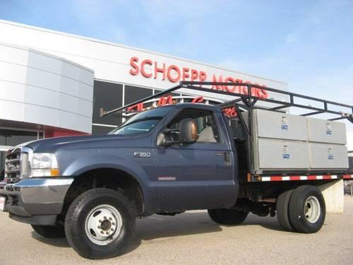 2004 ford super duty f 350 regular cab chassis cab xlt for Schoepp motors middleton wi