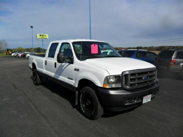 2004 ford super duty f 350 srw crew cab 156 xl 4wd for sale in wisconsin rapids wisconsin. Black Bedroom Furniture Sets. Home Design Ideas