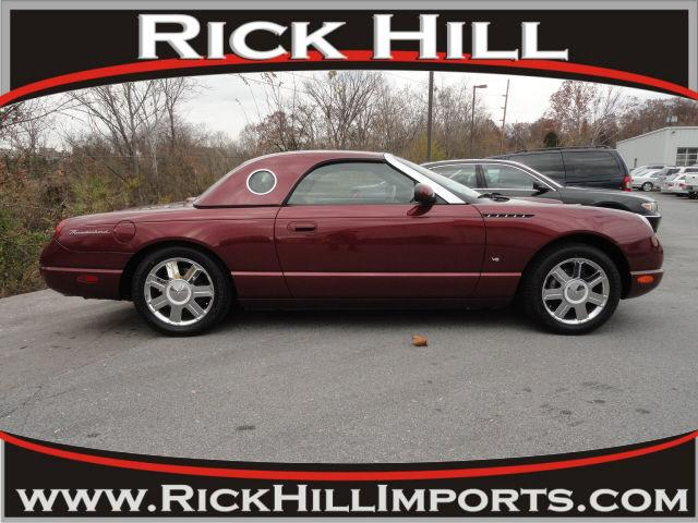 2004 ford thunderbird for sale in kingsport tennessee classified. Black Bedroom Furniture Sets. Home Design Ideas