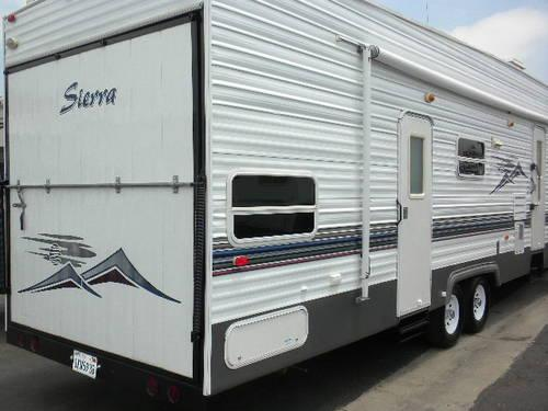 Forest River Sierra Sport F Toy Hauler Americanlisted on Toy Box Trailers