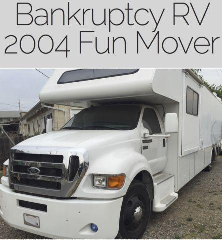 2004 Fun Mover By Four Winds Rv Toy Hauler For Sale In