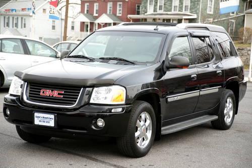 2004 gmc envoy xuv slt auto 4x4 black 92k miles. Black Bedroom Furniture Sets. Home Design Ideas