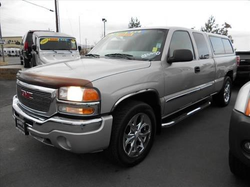 2004 Gmc Sierra 1500 Extended Cab Pickup 4x4 Sle For Sale