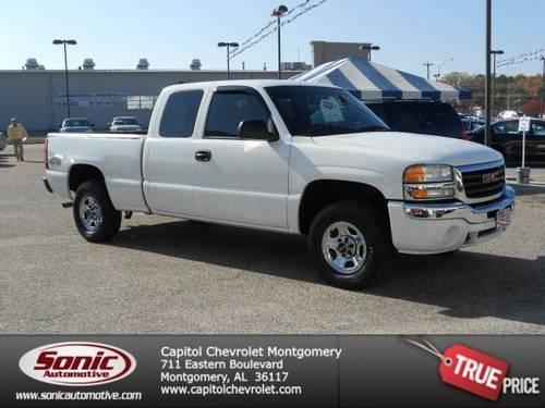 2004 gmc sierra 1500 pickup truck ext cab 143 5 wb 4wd for sale in montgomery alabama. Black Bedroom Furniture Sets. Home Design Ideas