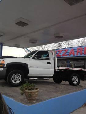 2004 gmc sierra 2500 hd work truck custom flatbed for sale in erie pennsylvania classified. Black Bedroom Furniture Sets. Home Design Ideas