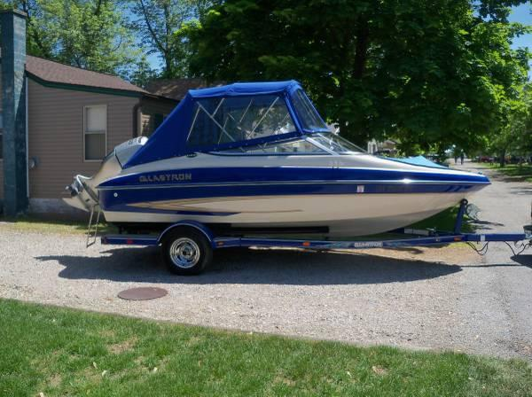 2004 gx180 18 ft glastron fishing ski boat for sale in for Fishing boats for sale in ohio