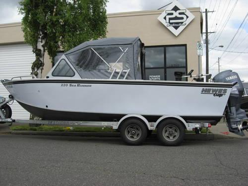 2004 Hewescraft 220 Sea Runner Outboard With Yamaha 150