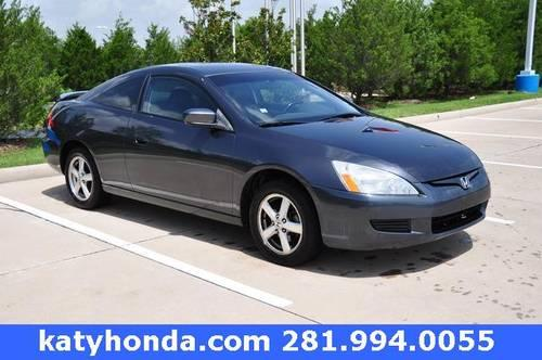 Used Vehicles For Sale In Katy Tx Honda Cars Of Katy: 2004 Honda Accord 2D Coupe EX For Sale In Katy, Texas