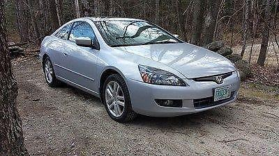 Superb 2004 Honda Accord Coupe EX L, V6 6 Speed With Nav