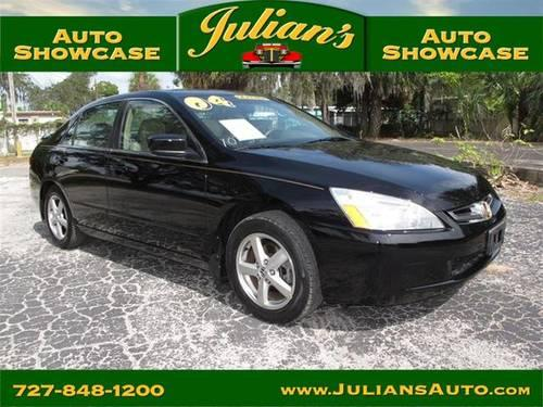 2004 honda accord ex for sale in new port richey florida classified. Black Bedroom Furniture Sets. Home Design Ideas