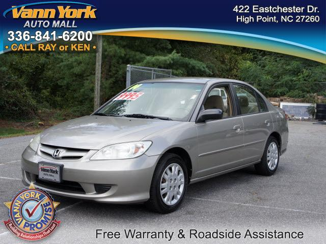 2004 Honda Civic Lx For Sale In High Point North Carolina