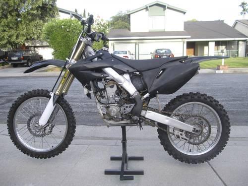 2004 Honda Crf 250 R Dirt Bike For Sale In San Jose California