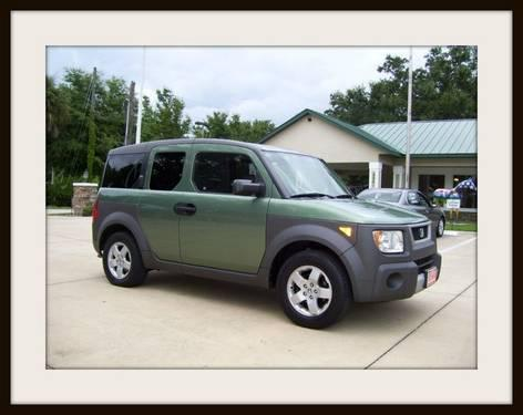 2004 honda element suv ex for sale in ocala florida for Honda large suv