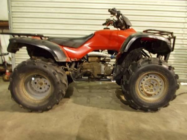 2004 honda fourtrax rancher at single cylinder 397 cc for Honda north shore