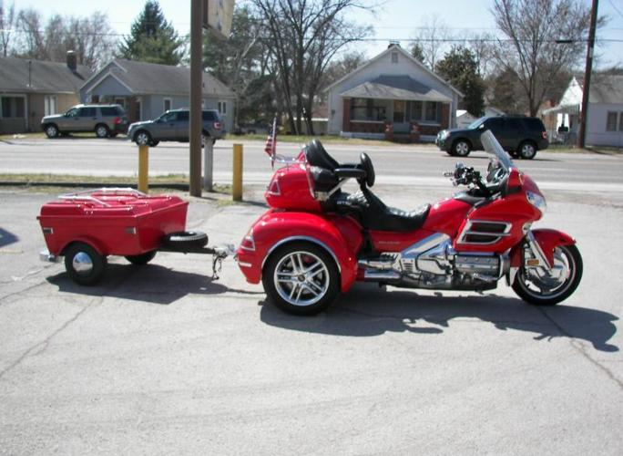 2004 Honda Goldwing Trike and Cyclemate Trailer for Sale in Kansas City, Missouri Classified ...