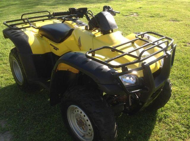 Honda Rancher For Sale >> 2004 HONDA RANCHER ES 4X4-350 4-WHEELER/ATV- GREAT!! LOW HRS/MILES!! for Sale in Elmwood, Texas ...