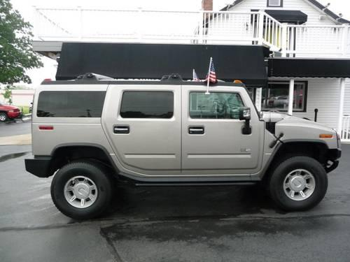 2004 hummer h2 suv for sale in blue ball ohio classified. Black Bedroom Furniture Sets. Home Design Ideas