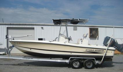 2004 hydra sports 2300 bay bolt 2004 fishing for Used fishing boats for sale in houston