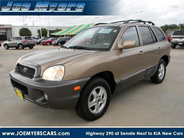 2004 hyundai santa fe gls for sale in jersey village texas classified. Black Bedroom Furniture Sets. Home Design Ideas