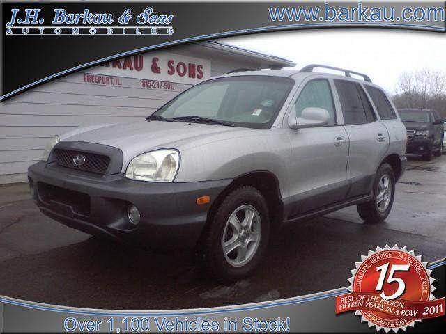 2004 hyundai santa fe gls for sale in cedarville illinois classified. Black Bedroom Furniture Sets. Home Design Ideas