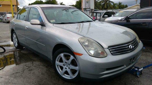 2004 infiniti g35 base awd 4dr sedan w leather for sale in. Black Bedroom Furniture Sets. Home Design Ideas