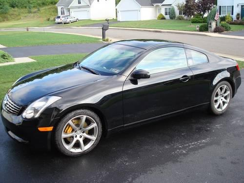 2004 infiniti g35 coupe low miles obo for sale in scranton pennsylvania classified. Black Bedroom Furniture Sets. Home Design Ideas